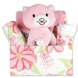 Hula Baby Fabric Covered Gift Box Set Baby