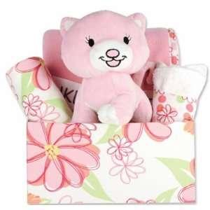 Hula Baby Fabric Covered Gift Box Set Baby