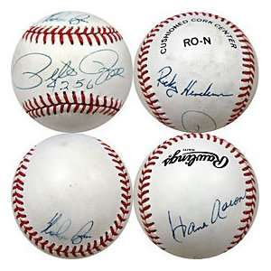All Time Kings Autographed / Signed Baseball