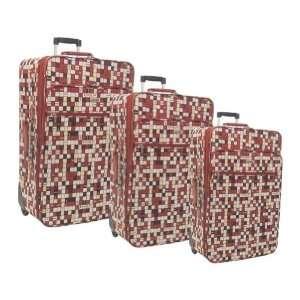 Olympia Tiffany 3 Piece Luggage Set