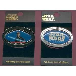 Disney Pin Star Wars Anakin Skywalker Spinner LE 2000 Toys & Games