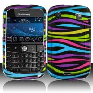 Blackberry 9900 9930 Bold Touch Rainbow Zebra Case Cover
