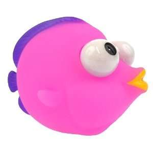 Pop eye pets squeeze stress fidget keychain dog cow pig for Fish pop eye