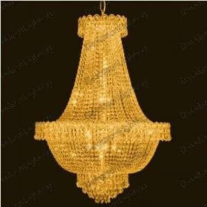 Chandelier 30% lead Crystal Century Collection # EL190024ag Size w24