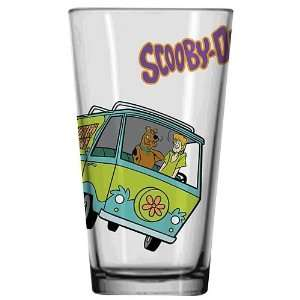 Scooby Doo Mystery Machine Glass Tumbler