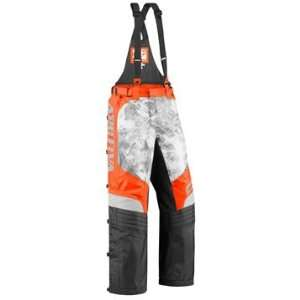 ARCTIVA COMP 6 SNOWMOBILE BIBS ORANGE CAMO 2XL: Automotive