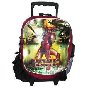 Iron Man Rolling Backpack Large Toys & Games