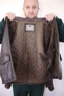 GAP Thick LEATHER Cafe Racer MOTORCYCLE Mens COAT JACKET M