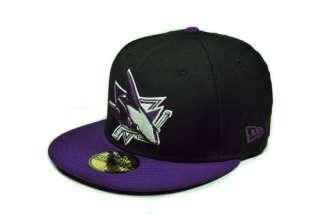 NEW ERA NHL 5950 FITTED HAT CAP SAN JOSE SHARKS LEAGUEBASIC BLACK