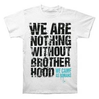 WE CAME AS ROMANS   Brotherhood   Black T shirt Clothing