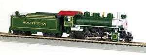 Bachmann Trains HO 51504 Southern Prairie 2 6 2 Steam Locomotive w