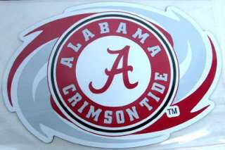 CRIMSON TIDE CAR TRUCK / SUV TEAM MAGNET GAME DAY ROLL TIDE FOOTBALL