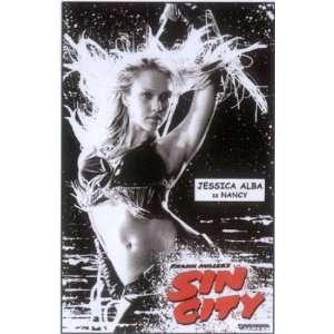 Sin City Tin Sign Jessica Alba as Nancy Toys & Games