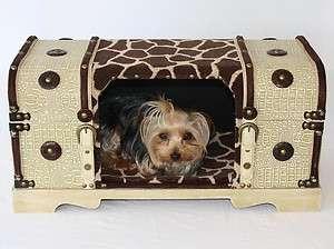 Designer Hide A Bed & Dog cat carrier Pet travel Crate top opens