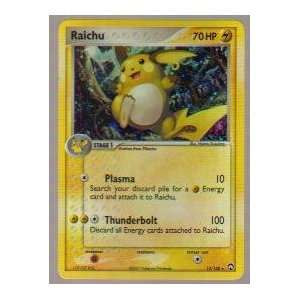 2007 Pokemon EX Power Keepers Holo Raichu #12/108: Toys