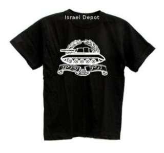 Israel Israeli Army IDF Armored Corps Logo Tank T shirt