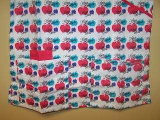NWT APPLE BOTTOMS Print Nurses Scrub Top FUCHSIA S 3XL 846710003197