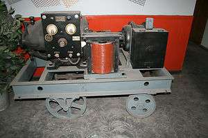 Antique General Electric Arc Welder on Cart