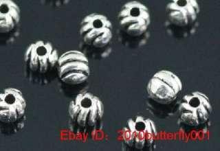 Free Ship 60pcs tibetan silver ball spacer beads 4mm