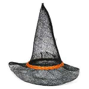& Black Sinamay Pointed Witch Hats 6 High Arts, Crafts & Sewing