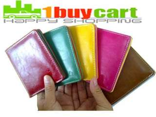 HOT Multicolor Cartoon Bifold PU Leather Purse Cash Holder Cards Slots
