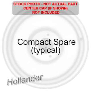 2009 FORD FUSION COMPACT SPARE WHEEL RIM
