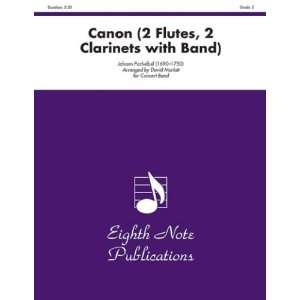 81 CB2036 Canon  2 Flutes  2 Clarinets with Band Musical Instruments