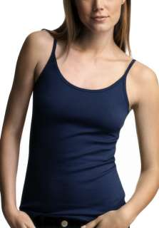 Navy Blue Lace Seamless Cami Tank Top Camisole S/M/L/XL