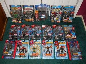 Doc Ock / Green Goblin / Venom / Mysterio / + Marvel Legends Spiderman