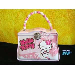 Hello Kitty Metal Tin Lunch Box Purse Disney New 2011 Retro Style
