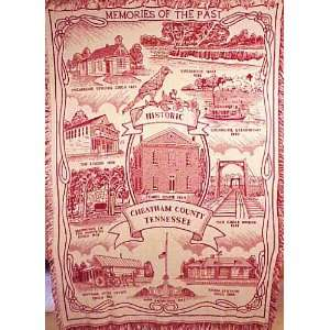 Memories of the Past Throw Blanket