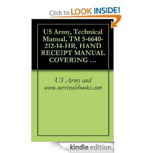 US Army, Technical Manual, TM 5 6640 212 14 HR, HAND RECEIPT MANUAL