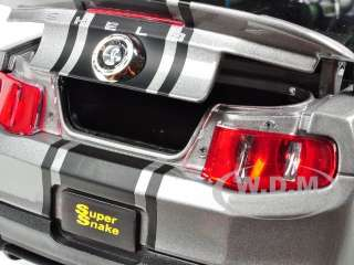 18 scale diecast model car of 2011 shelby mustang gt 500 super snake