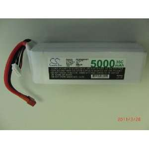 11.1V 5000mAh 35C RC Battery For Airplane, Helicopter
