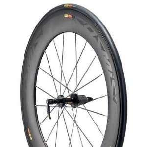 Mavic 2012 Cosmic Carbone 80 Tubular Road Bike Rear Wheel