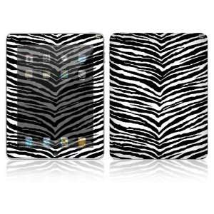 DecalSkin iPad Graphic Cover Skin   Black Zebra Skin Electronics