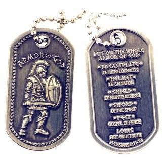 LDS Armor of God Dog Tag Jewelry