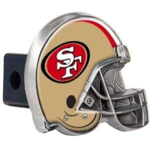 49ers NFL Metal Helmet Trailer Hitch Cover