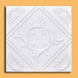 lot of ANET White Decorative Ceiling Tile   EASY INSTALATION ON SALE