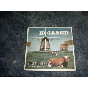 Holland View Master Reels B190 SAWYERS Books