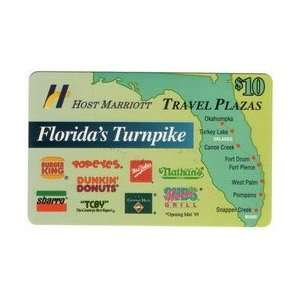 10. Florida Turnpike Map Marriott, Sbarro, Burger King, TCBY, Etc