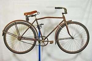 Junior Roadster Cruiser bicycle 28 wooden rims red bike
