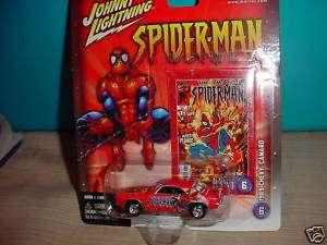 JL MARVEL SPIDERMAN 69 CHEVY CAMARO #6 PLASTIC TIRES