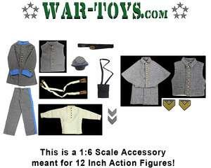ITPT   Civil War Blue Uniform Set & 12 Button Coat Set