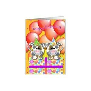 Puppy Happy Birthday Cards Card Toys & Games