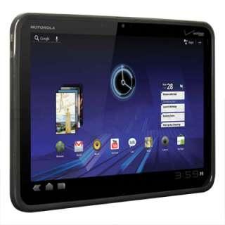 Black TPU Soft Gel Skin Cover Case For Motorola XOOM WiFi 3G