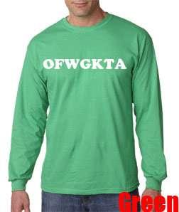 Future Tyler Creator Long Sleeve T Shirt Swag Hip Hop Wolf Gang