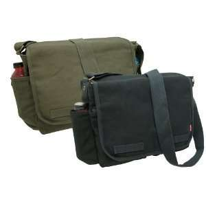 DOMINANCE 2 IN 1 COMBO Classic Military Messenger Bag Laptop, IPAD