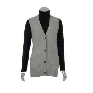 Sutton Studio Womens All Cashmere Cardigan Vest Sweater