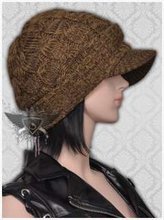 SH Khaki Green Womens Cute Skullcap Casual Warm Cotton Ski Beanie Hat